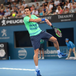 Luxilon Tennis AdStaff Player - Milos Raonic
