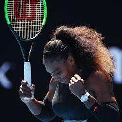 Luxilon Tennis AdStaff Player - Serena Williams