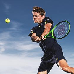Luxilon Tennis AdStaff Player - David Goffin